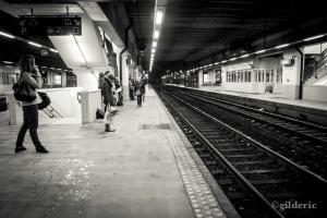Retard de train - Gare de Namur - Belgique