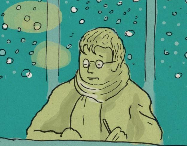 Panne de chauffage (détail) - Dessin de Gilderic
