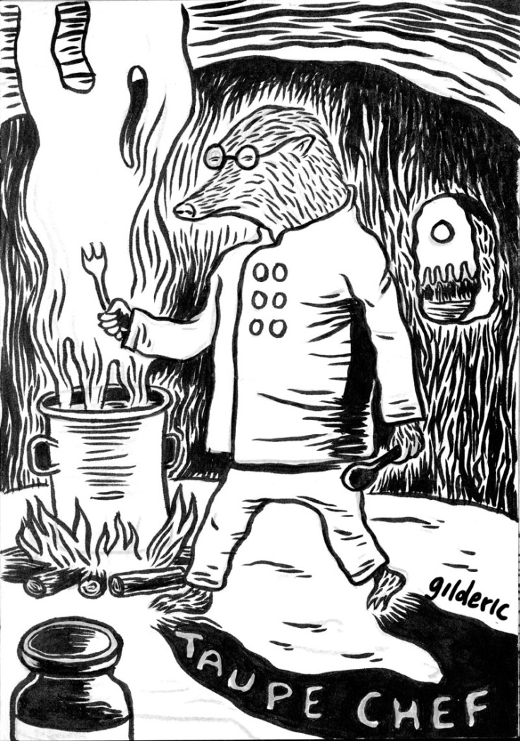 Taupe Chef - character design - dessin de Gilderic