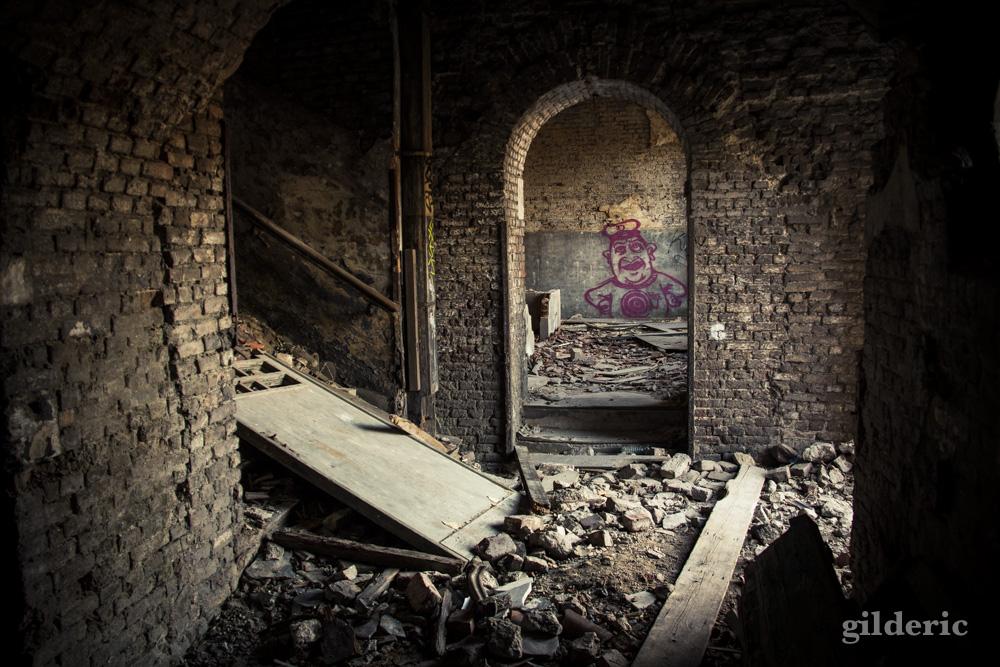 Le concierge fantôme - Fort de la Chartreuse, Liège - Photo : Gilderic