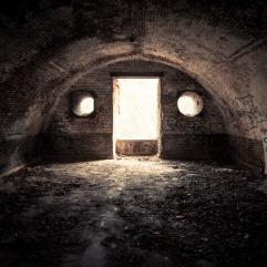 Le monstre de la casemate - Fort de la Chartreuse, Liège - Photo : Gilderic