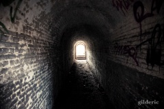 Tunnel - Fort de la Chartreuse, Liège - Photo : Gilderic
