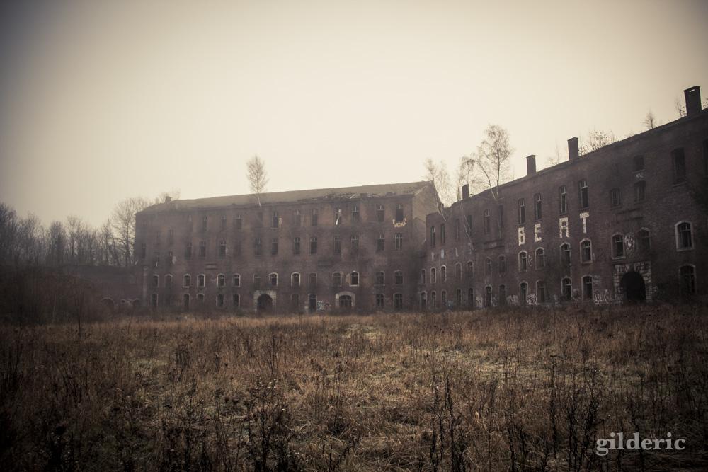 Fort brumeux - Fort de la Chartreuse, Liège - Photo : Gilderic