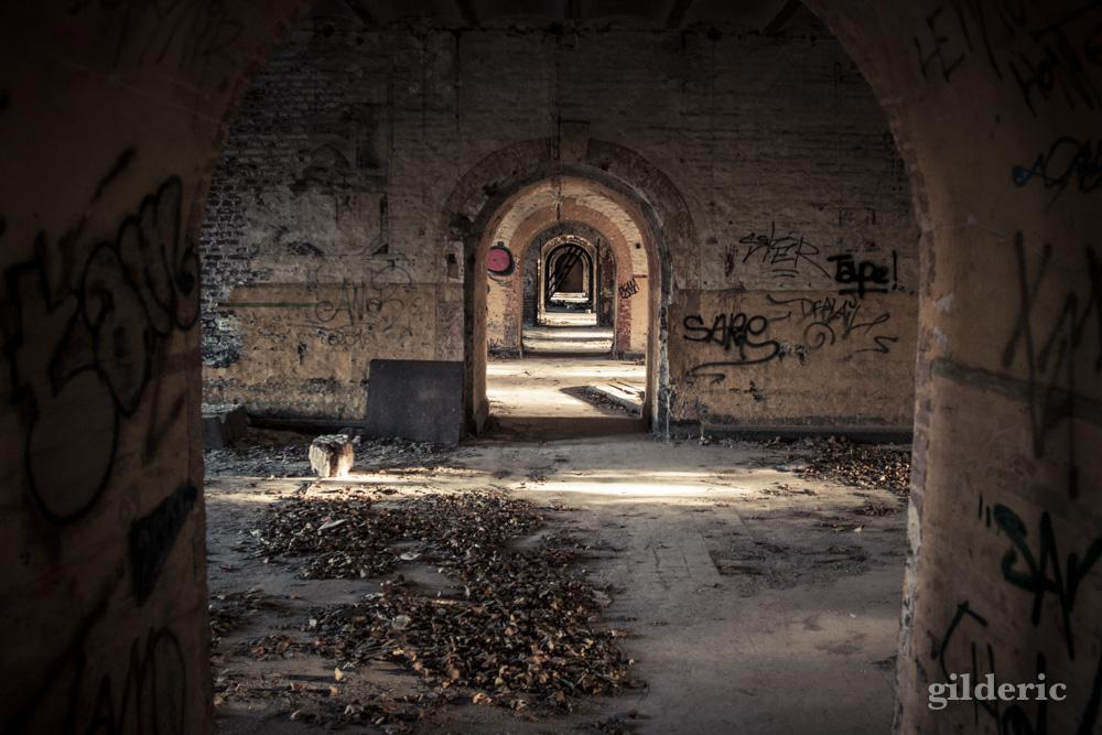 Perspective... - Fort de la Chartreuse, Liège - Photo : Gilderic