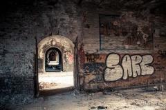 Saccage- Fort de la Chartreuse, Liège - Photo : Gilderic