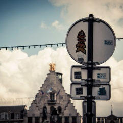 Le verso de la place - Lille - Photo : Gilderic