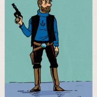 Tintin vs Star Wars : Haddock Solo