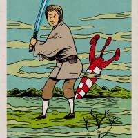 Tintin Skywalker : Star Wars façon Ligne claire