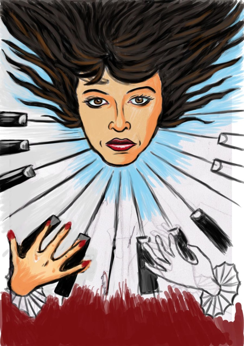Kate Bush - Dessin de Gilderic