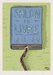 Salon du Livre de Paris 2014 - dessin de Gilderic