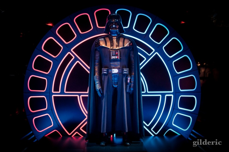 Darth Vader costume, Star Wars Identities, Paris - Photo : Gilderic