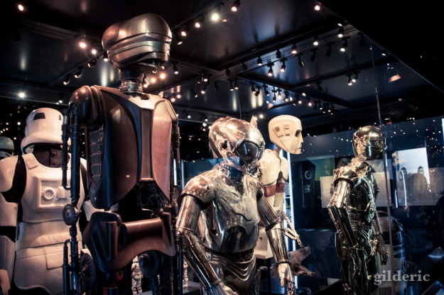 Droïdes, Star Wars Identities, Paris - Photo : Gilderic