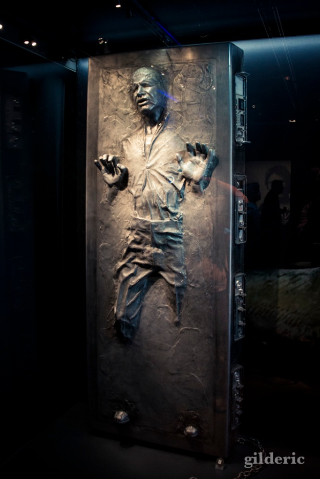 Han Solo Carbonite, Star Wars Identities, Paris - Photo : Gilderic