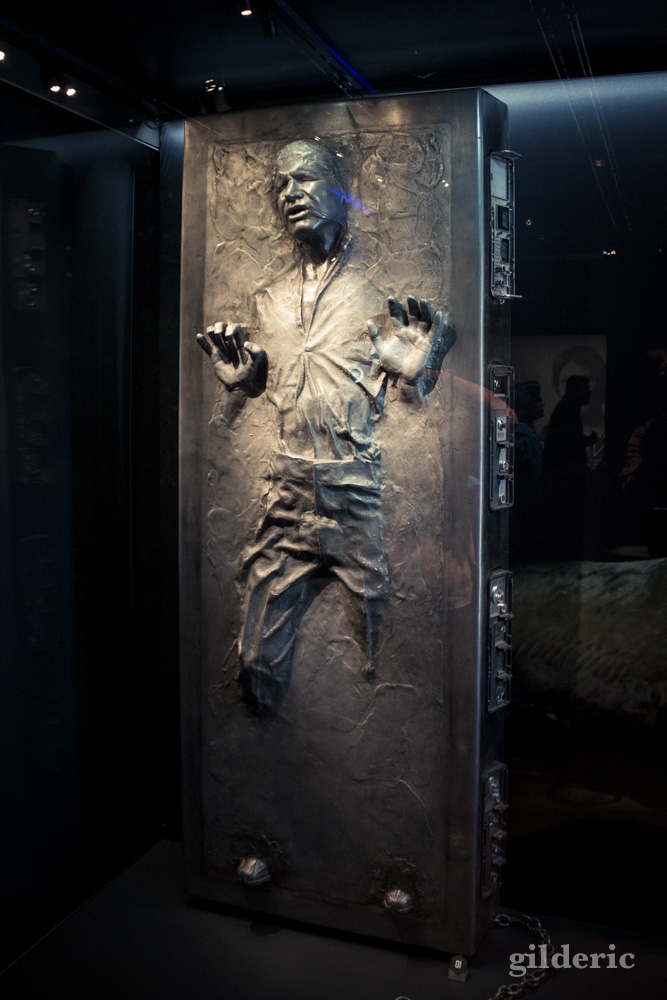 Han Solo Carbonite, Star Wars Identities, Paris - Photo : Gilderic
