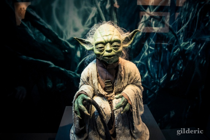 Marionnette de Yoda, Star Wars Identities, Paris - Photo : Gilderic
