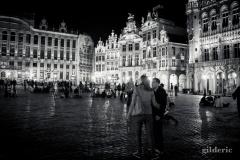 Grand Place de Bruxelles by Night - Photo : Gilderic