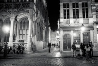 Grand Place de Bruxelles by Night - Photo : Gilderic