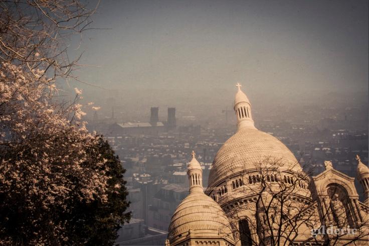 Carte postale de Montmartre - Montage photo de Gilderic