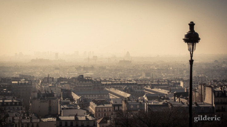 Paris, vu de Montmartre - Photo : Gilderic