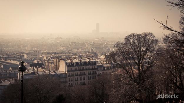 Paris, vu de Montmartre - Photo : Gilderic