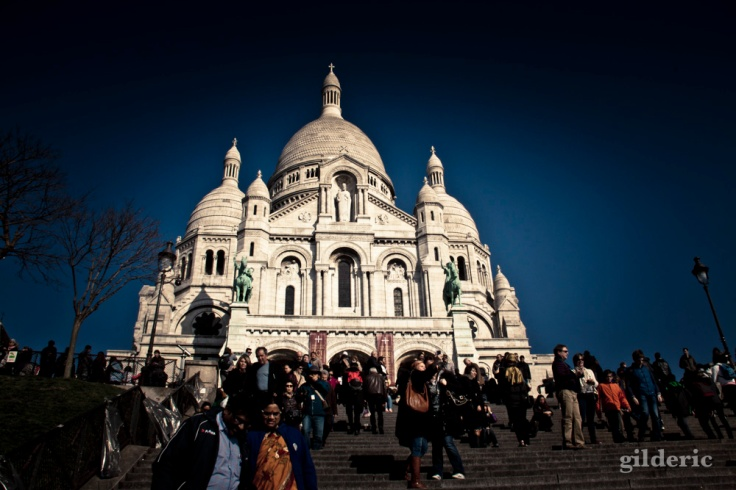 Basilique du Sacré-Coeur, Montmartre, Paris - Photo : Gilderic
