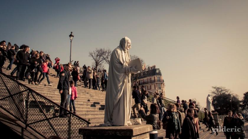 La statue vivante