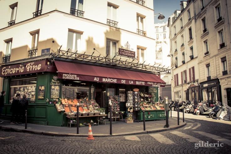 L'épicerie d'Amélie à Montmatre, Paris - Photo : Gilderic