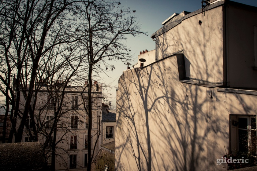 Ombres et lumières à Montmatre, Paris - Photo : Gilderic