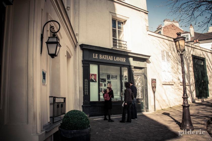 Le Bateau-Lavoir à Montmatre, Paris - Photo : Gilderic