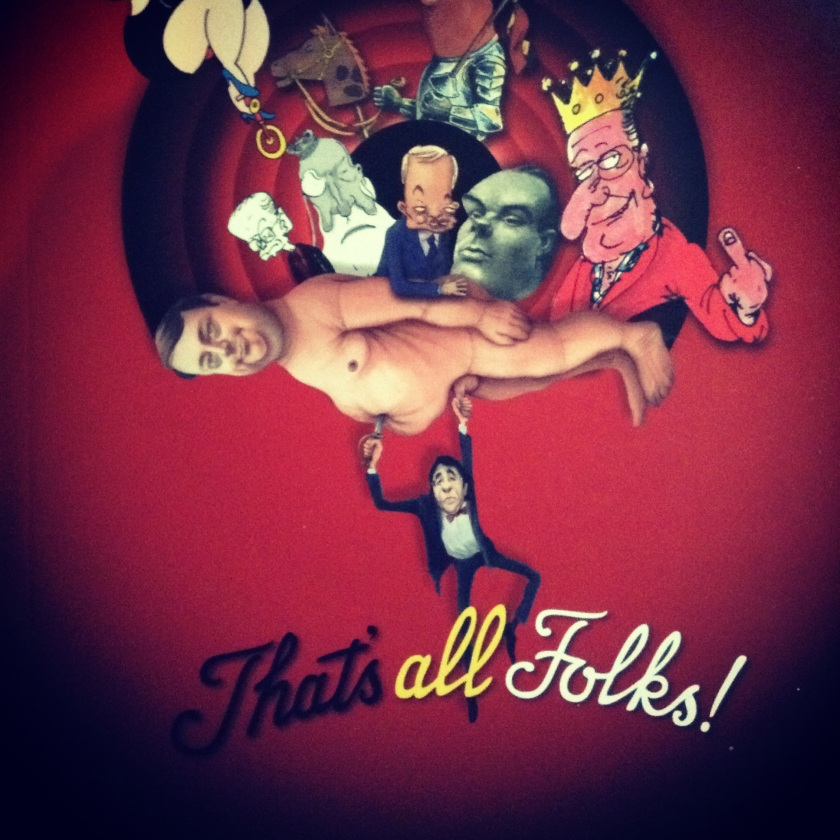 That's All Folks - visuel de l'affiche et du catalogue de l'expo