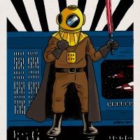 Tintin vs Star Wars VII : Dark Vador