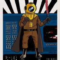 Tintin vs Star Wars VII : Dark Vador