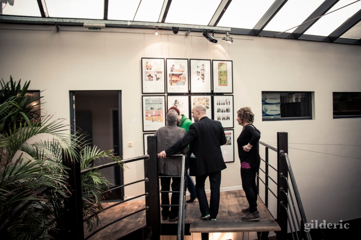 """Vernissage expo """"That's All Folks"""" (Seed Factory, Brussels) - Photo : Gilderic"""