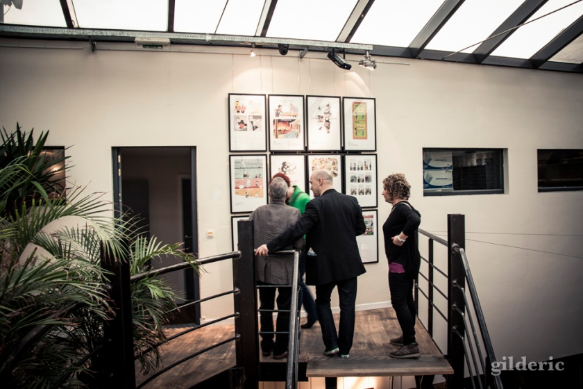 "Vernissage expo ""That's All Folks"" (Seed Factory, Brussels) - Photo : Gilderic"