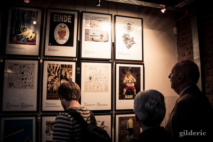 """Vernissage expo """"That's All Folks"""" (Seed Factory, Bruxelles) - Photo : Gilderic"""