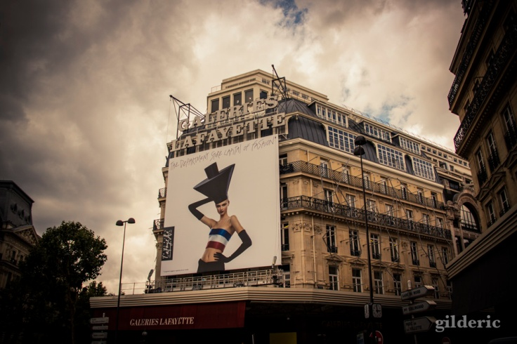les Galeries Lafayette - Photo : Gilderic