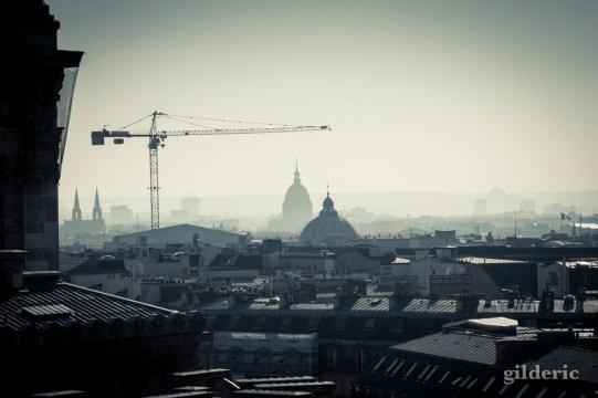 Panorama de Paris (depuis les Galeries Lafayette) - Photo : Gilderic
