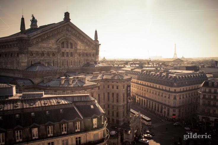 Panorama de Paris (L'opéra Garnier depuis les Galeries Lafayette) - Photo : Gilderic