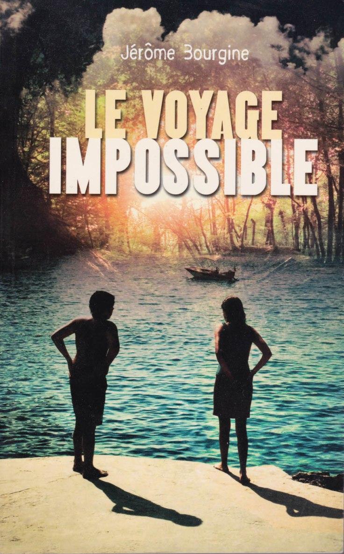 """Couverture du """"Voyage Impossible"""" de Jérôme Bourgine - Photo : Gilderic"""