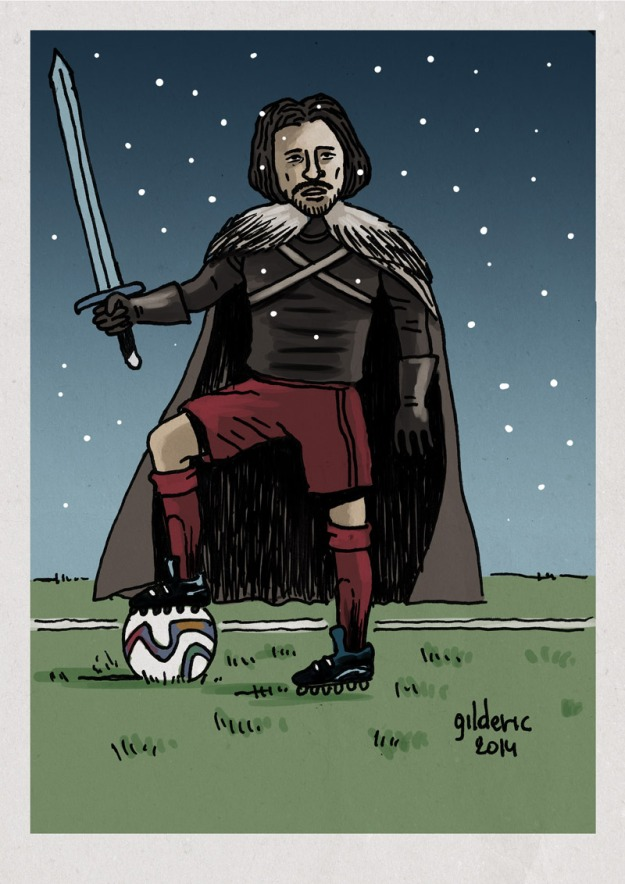 Game of Thrones vs Fifa World Cup - Dessin de Gilderic