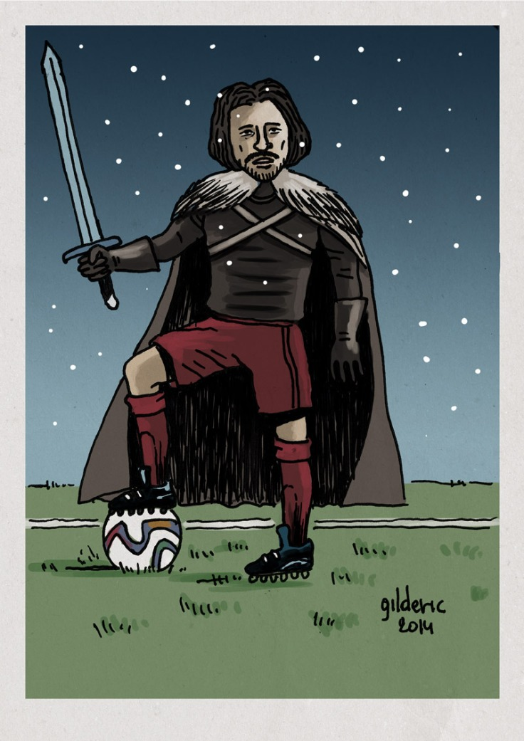 Game of Thrones vs Fifa World Cup - Dessin de Gilderic
