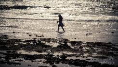 Jeune fille en contrejour - Tenerife - Photo : GIlderic