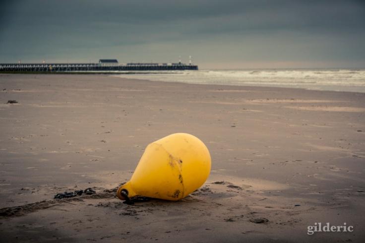 La bouée sur la plage - Blankenberge, Belgique - Photo : Gilderic