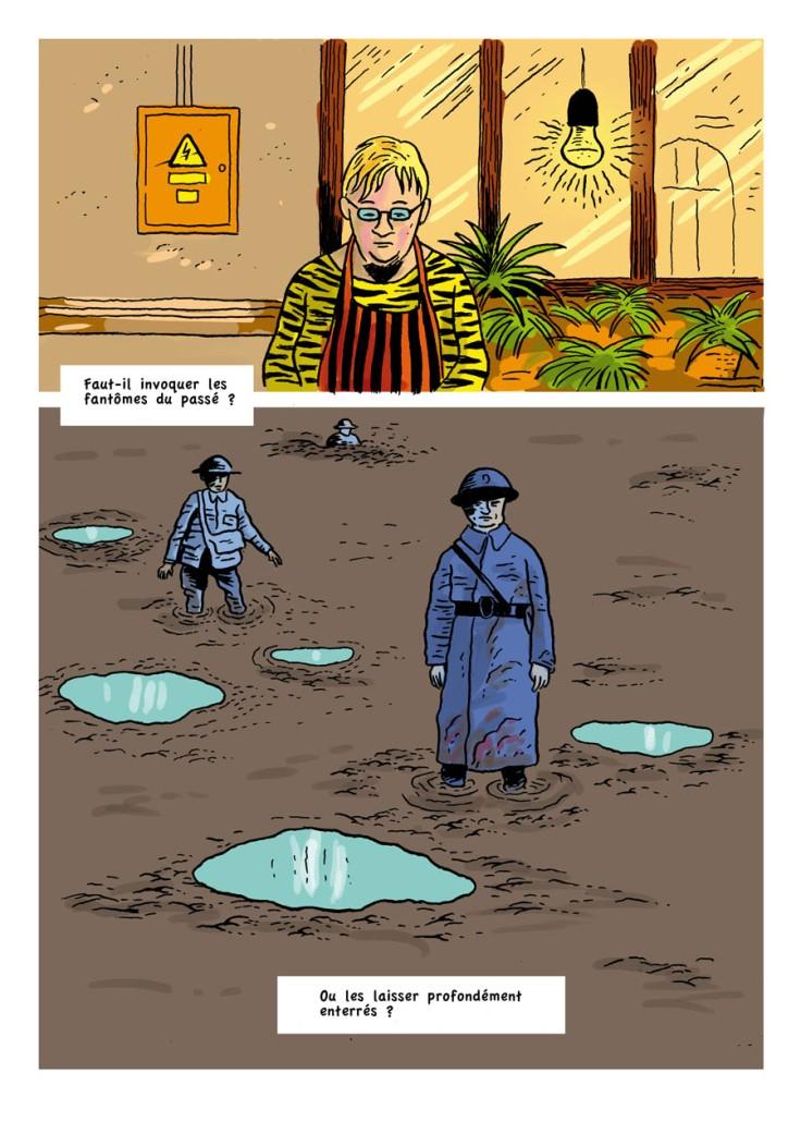 Les Fantômes du passé (100 ans de guerre) - Dessin de Gilderic
