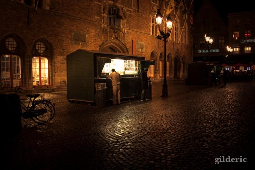 Fritkot - Bruges - Photo : Gilderic