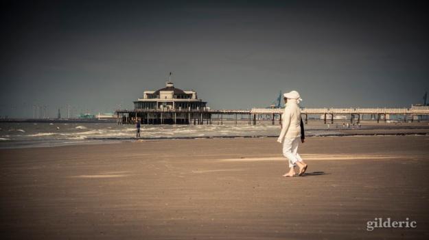 La plage onirique (Blankenberge, Belgique) - Photo : Gilderic
