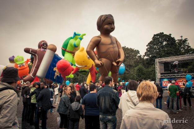 Balloon's Day Parade à Bruxelles - Photo : Gilderic