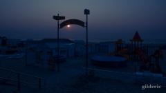 Crépuscule sur la plage... Blankenberge - Photo : Gilderic