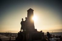 L'ombre du soldat... Blankenberge - Photo : Gilderic