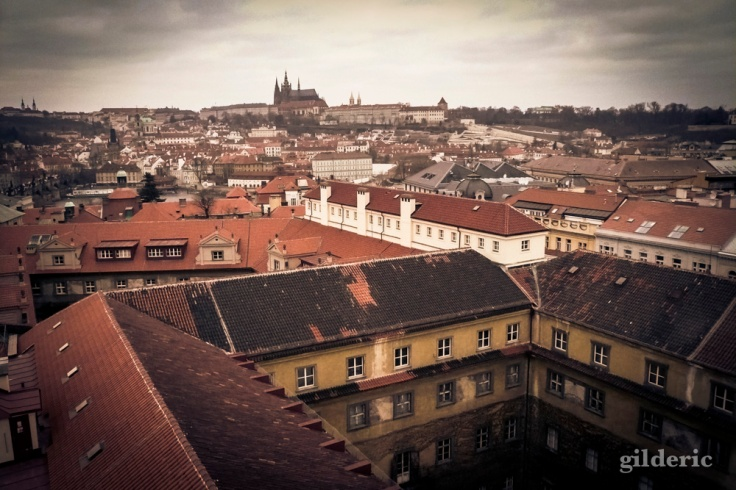 Prague et son château - Photo : Gilderic